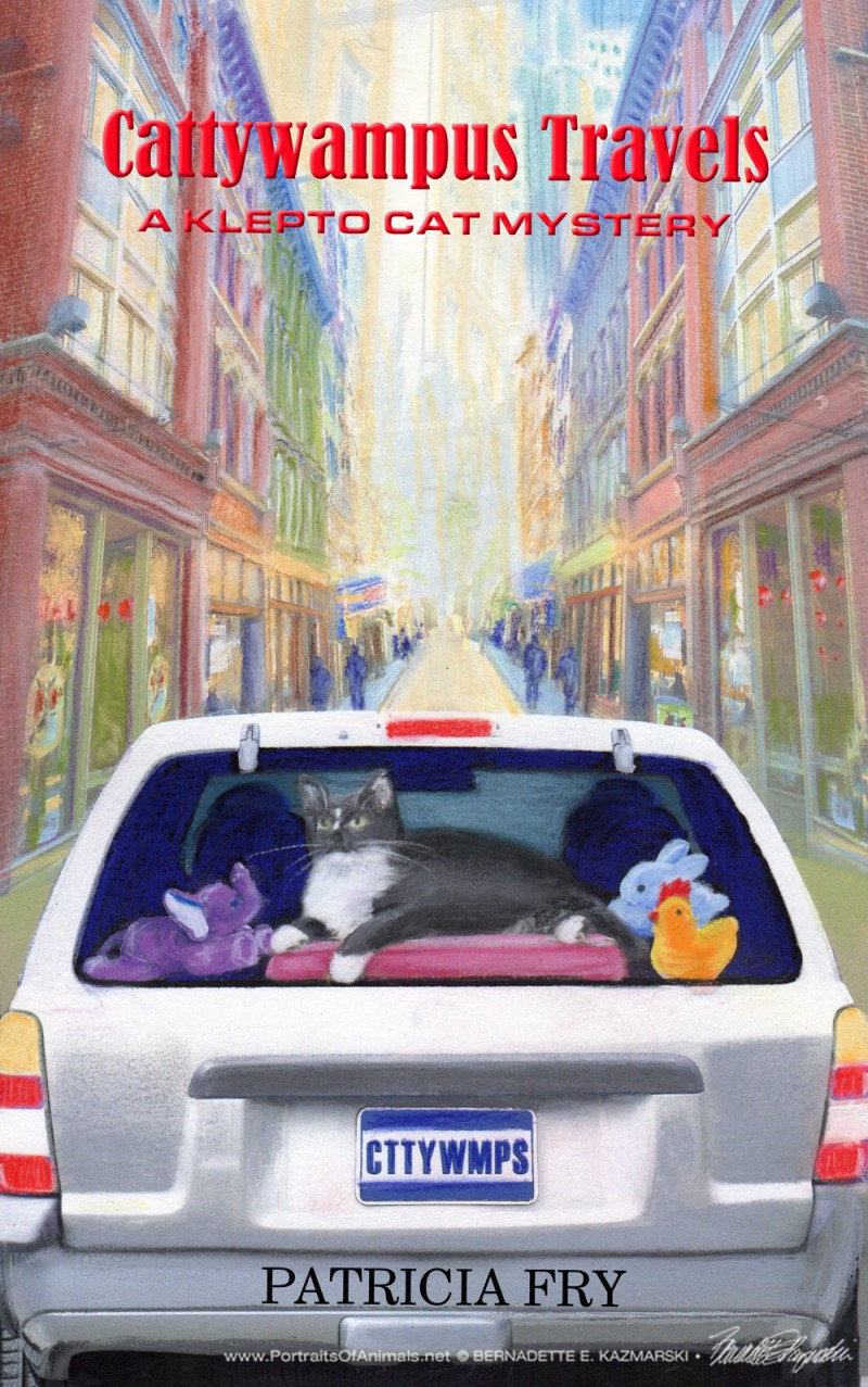 "The final cover, ""Cattywampus Travels""."