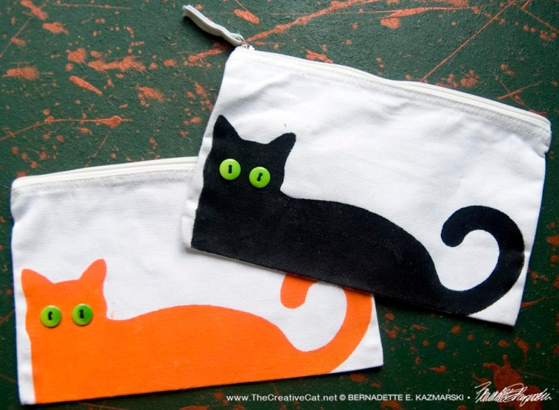 Bella! Accessory Bags in Housepanther and Ginger Kitty