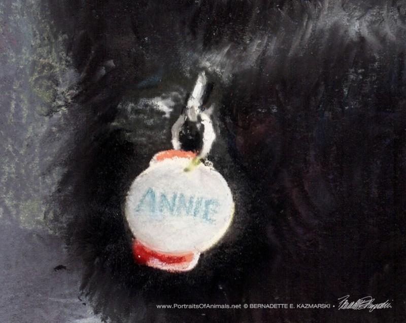Annie's tags.
