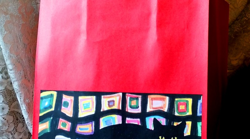 GiftBag-MewsetteOnTheAfghan-red