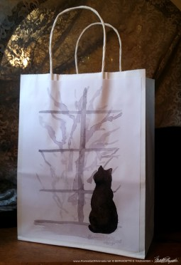 """""""Snowy Mornign: gift bag."""