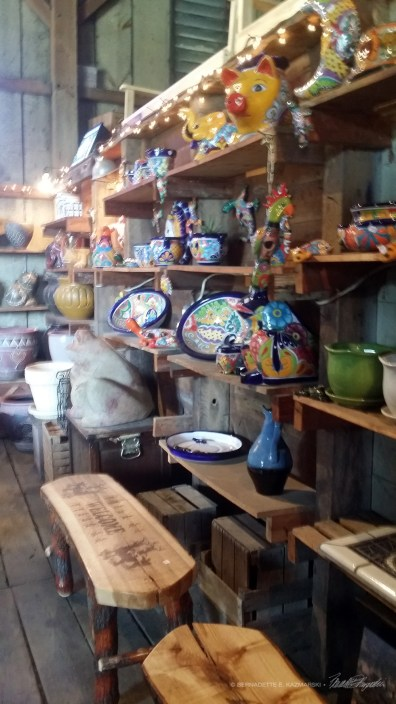 Ceramics and wood