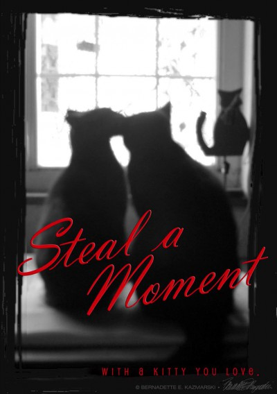 valentine two cat silhouettes