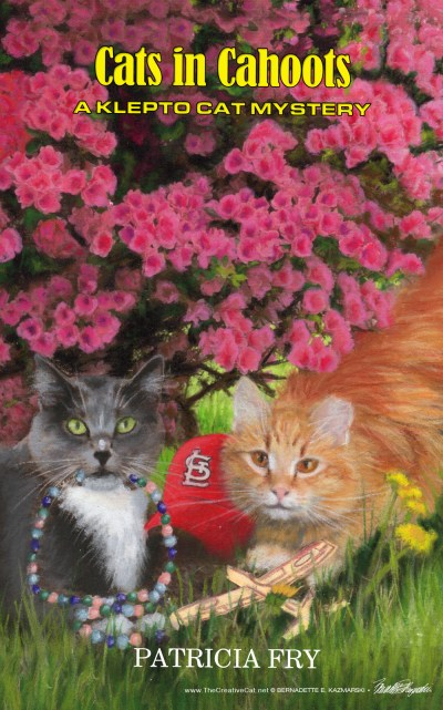 """Cats in Cahoots"" final cover."