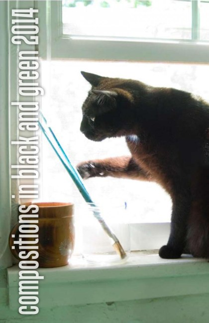 calendar with black cat