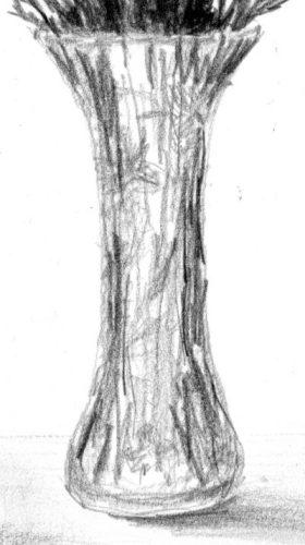 Detail of vase.