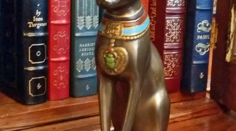 Egyptian Cat Figurine