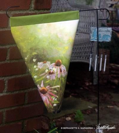Evening Wildflowers Garden Flag