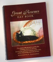 day book with cat portraits great rescues day book