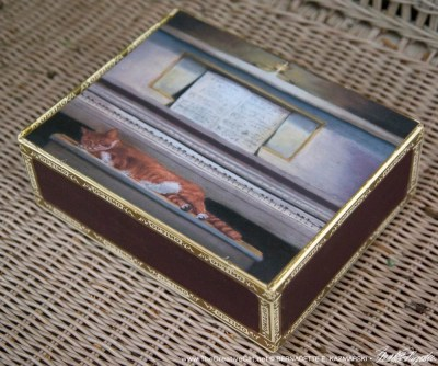 Allegro Moderato Vintage Cigar Box Keepsake