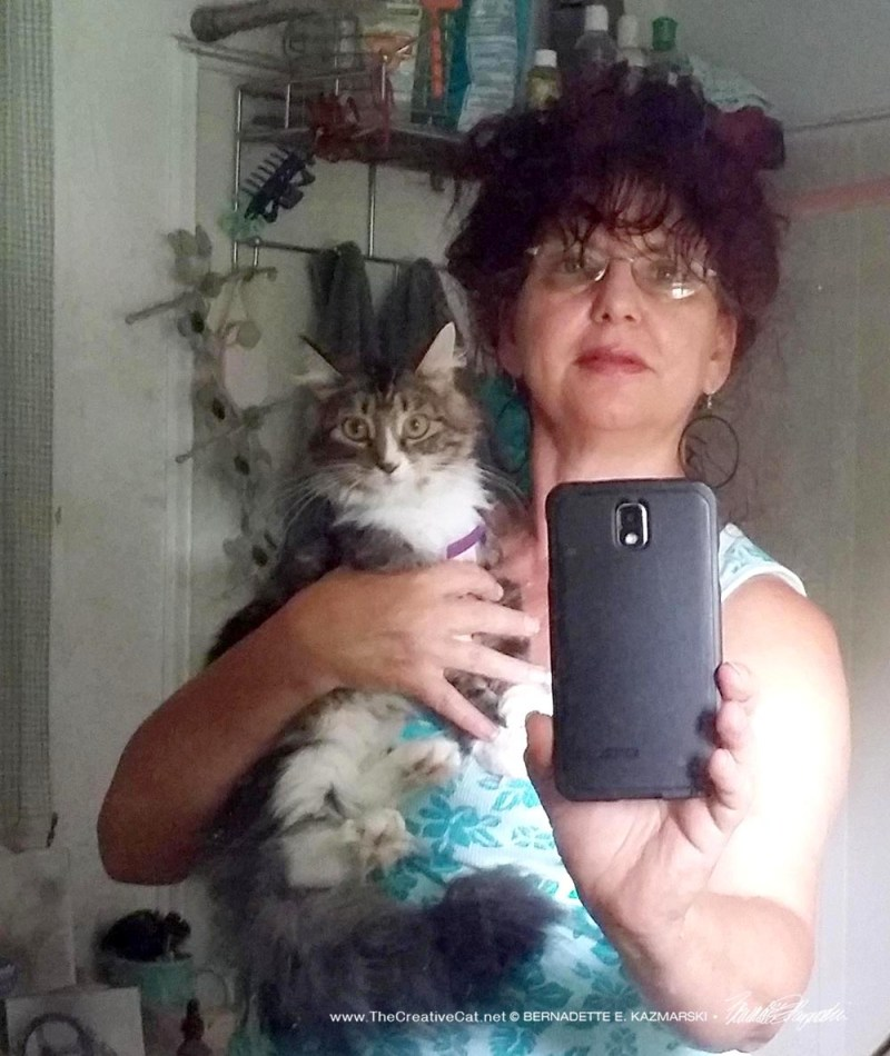 Mariposa and me.