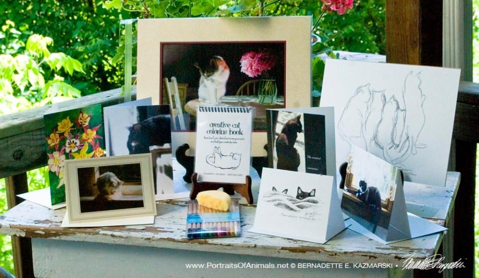 The May 2016 Feline Sampler Box.