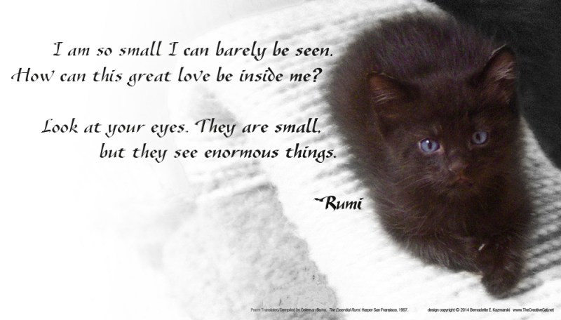 """Rumi, """"This Great Love"""""""