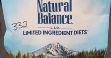 L.I.D. Green Pea & Chicken Dry Cat Formula Voluntary Recall