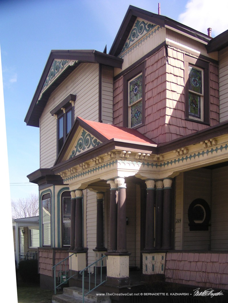 Nice Victorian house on the next street over.