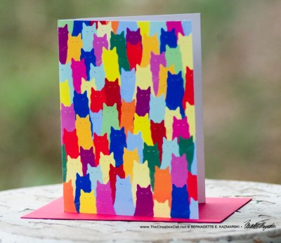 Inscrutable Patterns note cards
