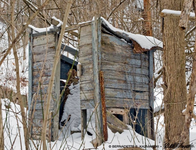 Photo of outhouse