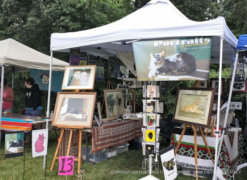 booths at festival