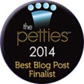 Petties Best Blog Post Finalist
