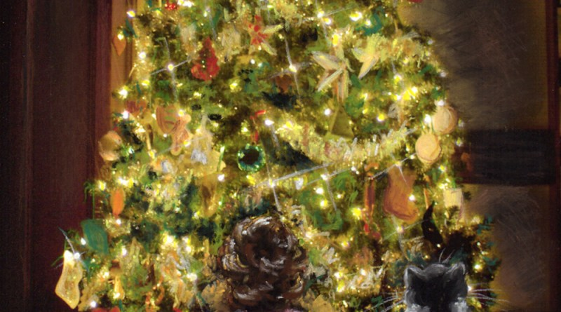 """""""A Picture Purrfect Christmas"""" klepto cat mystery by patricia fry"""