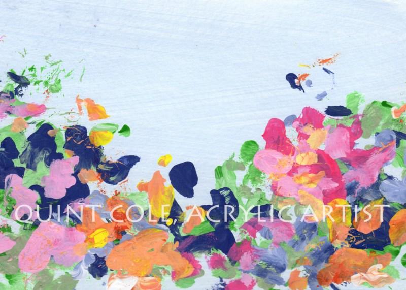 """Full Spring"", 5"" x 7"" © Quint Cole"