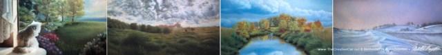 """""""The Four Seasons"""" © Bernadette E. Kazmarksi"""