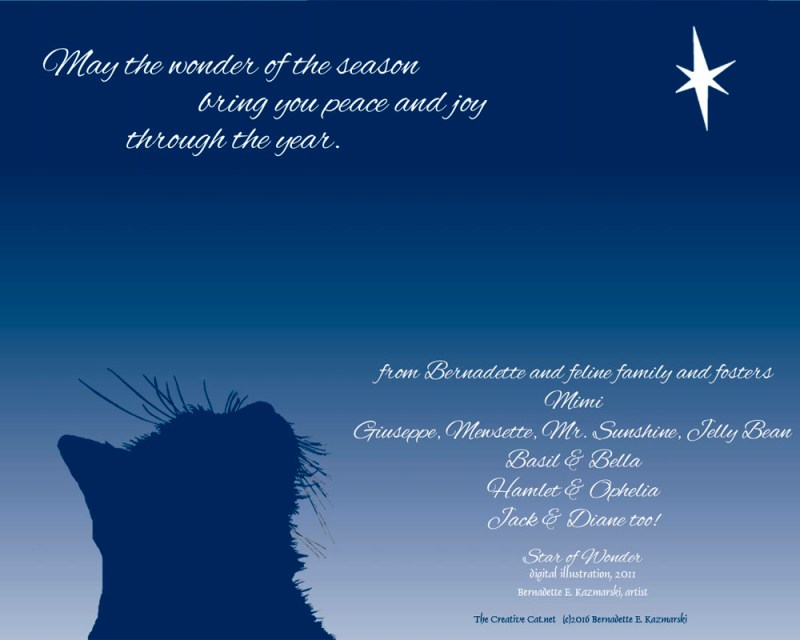 May the wonder of the season bring you peace and joy through the year.