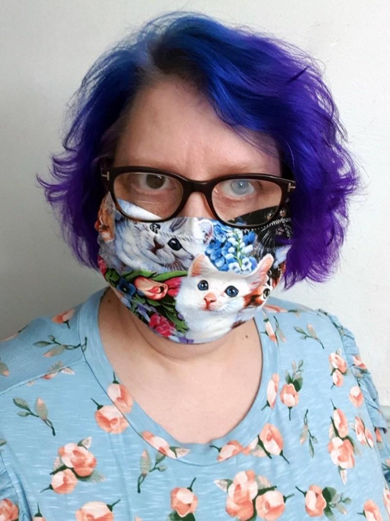Tanya in mask