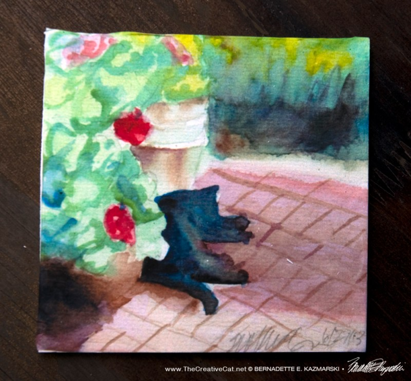 Garden Sketch With Mimi Tile