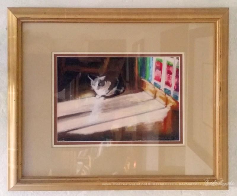 """""""Warm Winter Sun"""" framed."""