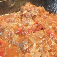 SC Pork Rib & Chorizo Mess