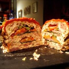 Triple Hamburger Meatloaf from PaleoPot