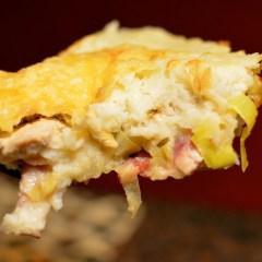 Chicken and Leek Skillet Pie