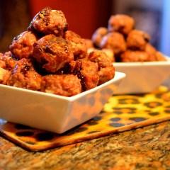 Festive Spiced Cranberry Meatballs