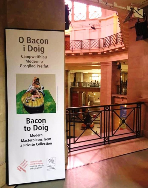 Bacon to Doig National Museum Cardiff, Image source: Megan Sylvester