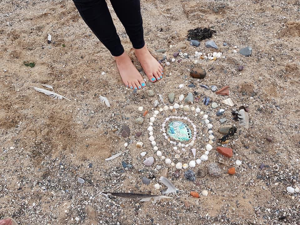 beach sandala
