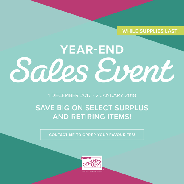 Goodbye 2017…Hello savings!