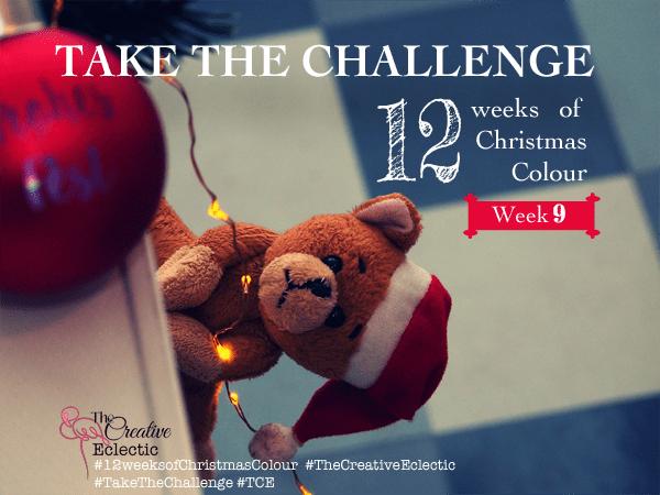 12 weeks of Christmas Colour – Week 9