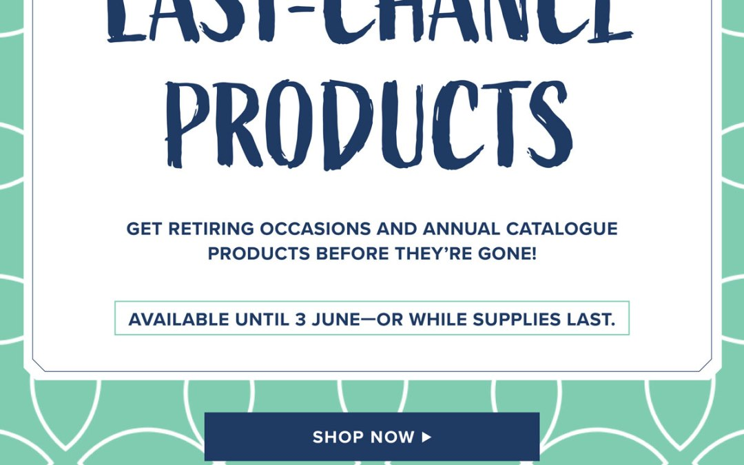 The Official Stampin' Up! retiring products list