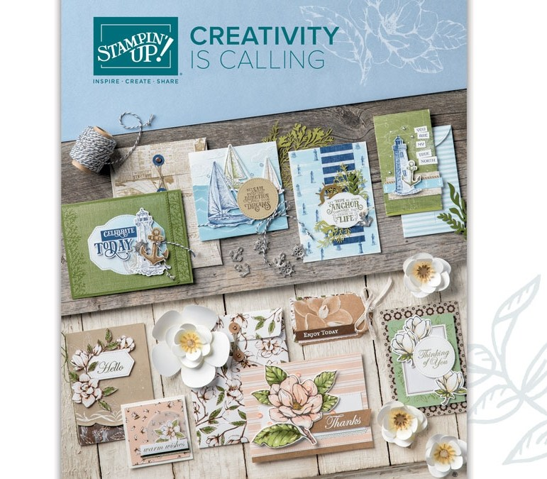 New Stampin' Up! Catalogue is HERE!