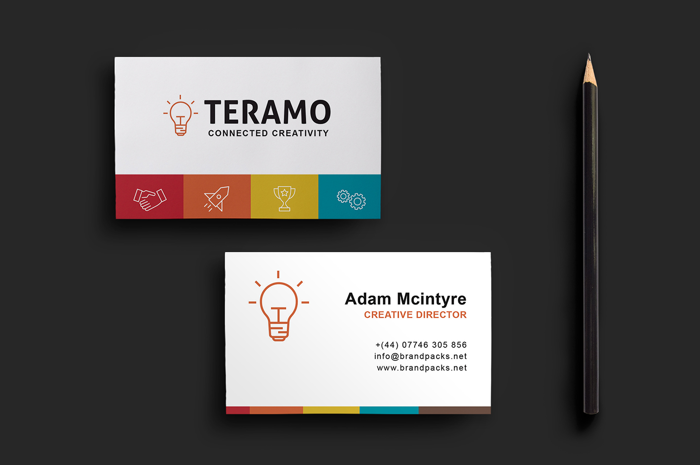 Clean And Professional Double Sided Business Card Template The Creative Feed