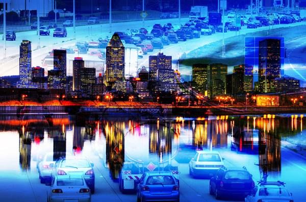 Montreal City Photo Montage 06