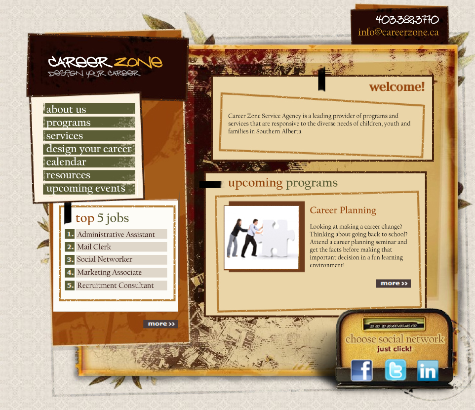 Concept design for government project - never developed