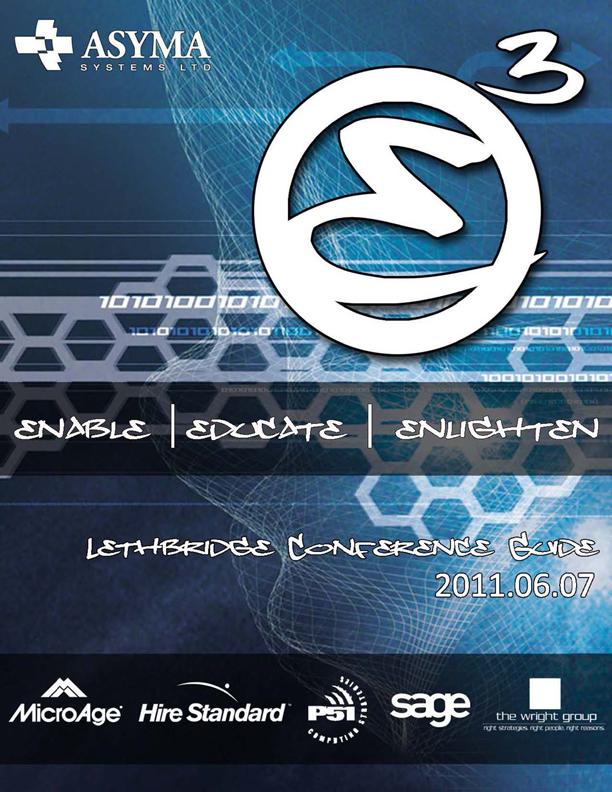 Asyma Systems E3 Conference Book
