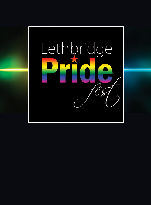 Lethbride Pride Festival ID Badge