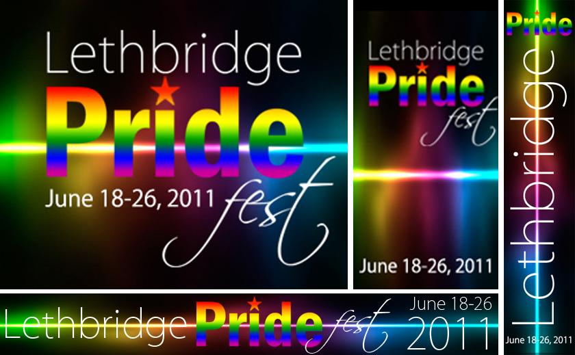 Lethbridge Pride Festival Web & Print Ads