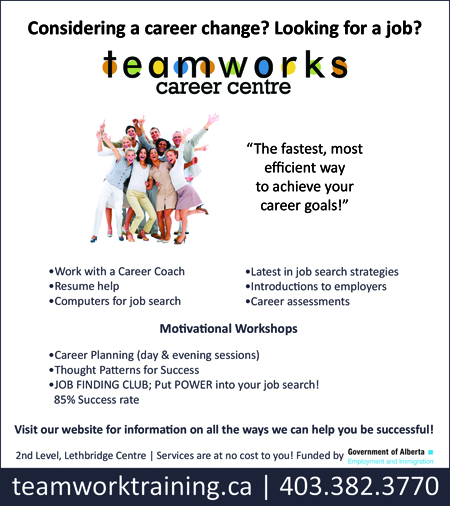 Teamworks Career Centre - Looking for a Change?
