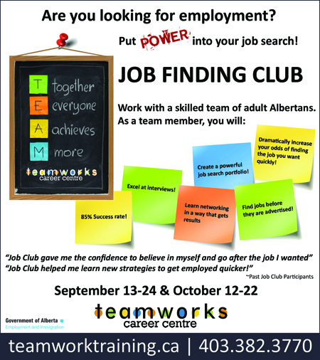 Teamworks Career Centre - Job Finding Club