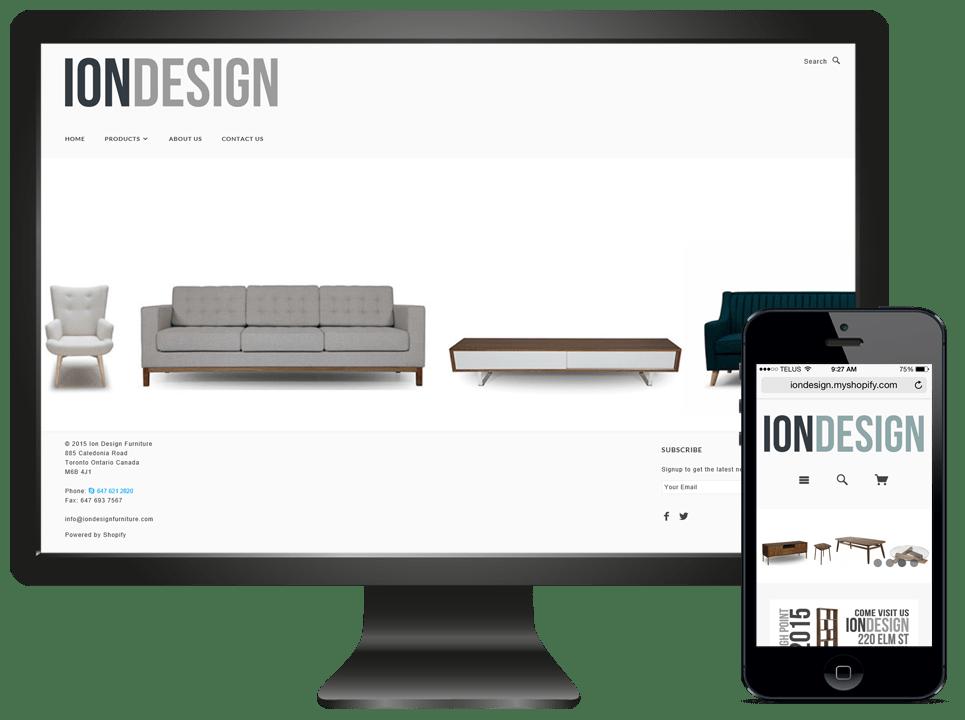 Website - IONDesign - Multiple Screens