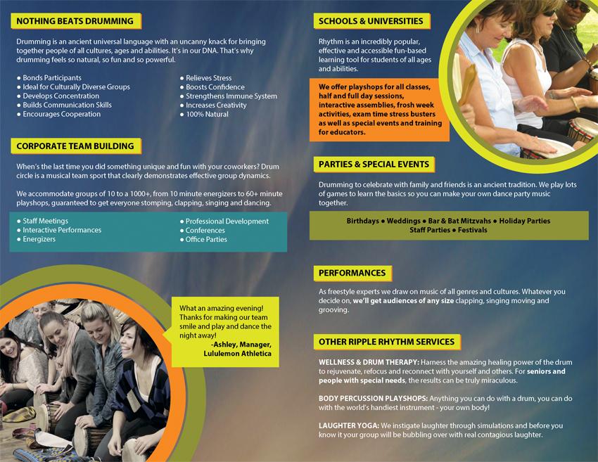 Ripple Rhythm Marketing Brochure Inside Pages